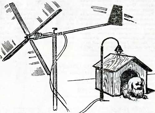 Флюгер-генератор