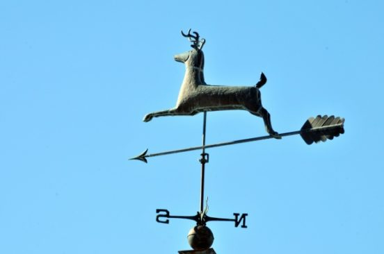 Флюгер-олень