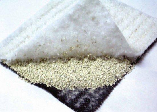Геомембрана глиняно-геосинтетическая