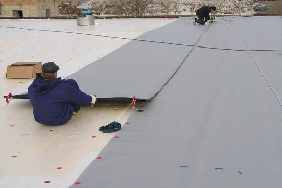 Покрыть крышу гаража гидроизолом своими руками 66