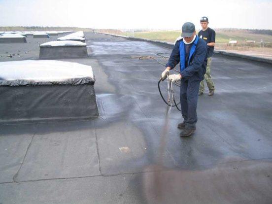 Покрыть крышу гаража гидроизолом своими руками 68