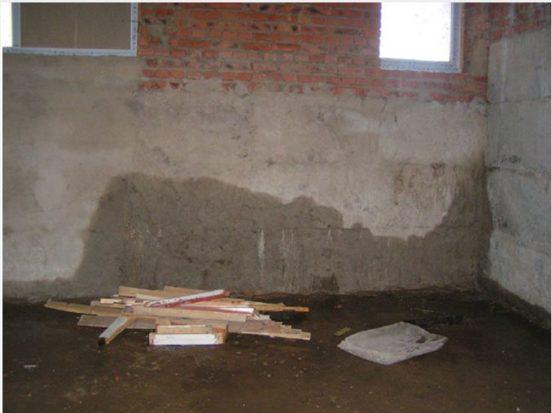 Сырость в подвале