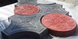 Тротуарная плитка в домашних условиях: от формы до укладки своими руками