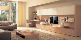 Расстановка мебели в гостиной: варианты зонирования