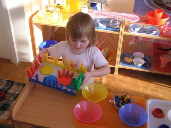 Игровая зона для ребёнка