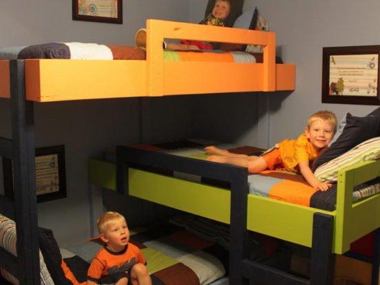 Комната для трёх мальчиков