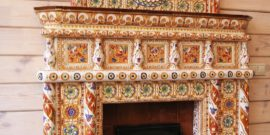 Облицовка печи плиткой: выбор материала и инструкция по выполнению работ