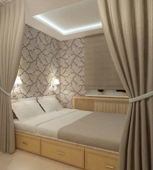 Подсветка спальной зоны