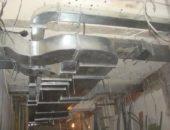 Сложная вентиляционная система в погребе больших площадей