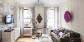 Совмещение гостиной и спальни в современной квартире: как сделать легко и непринуждённо
