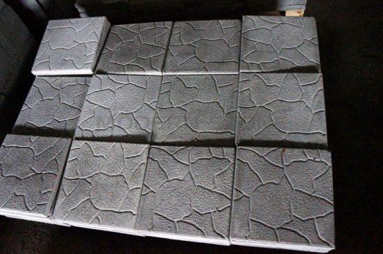 Сушка плитки без форм
