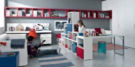 Современные способы и методы зонирования детской комнаты