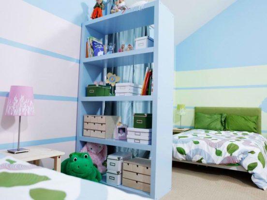 Зонирование пространства с помощью мебели