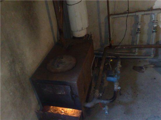 Установка теплового агрегата