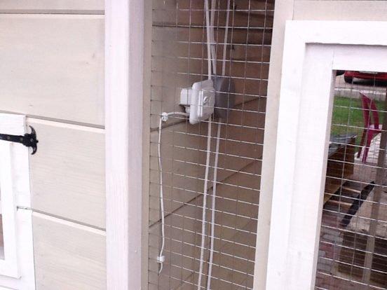 Внутреннее оборудование помещения для голубей
