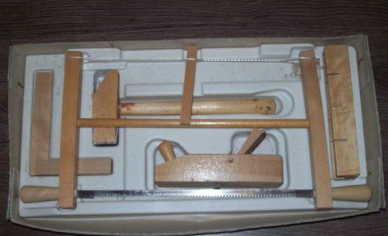 Стандартный набор инструментов плотника