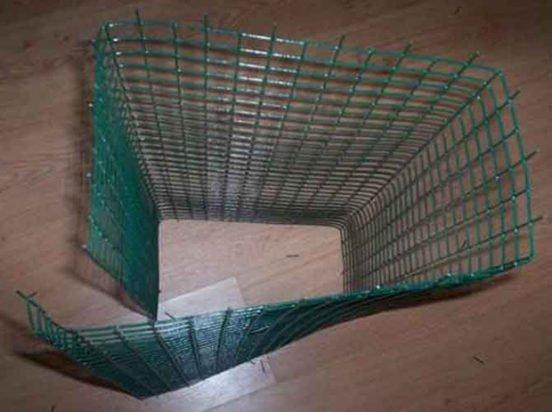 Изготовление бескаркасной клетки для перепелов