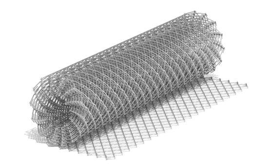 Мелкоячеистая оцинкованная сетка 20x20 мм