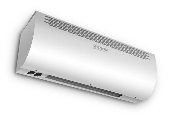 Модель электрической тепловой завесы