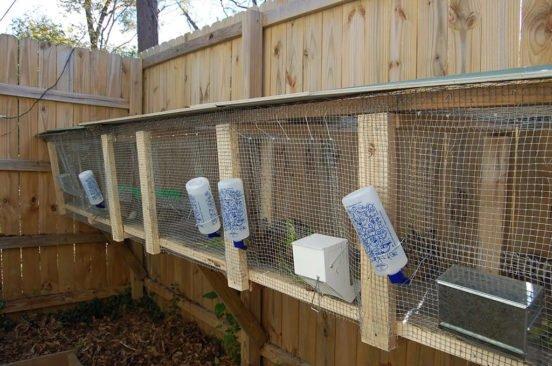 Самодельные поилки для кроликов из пластиковой тары