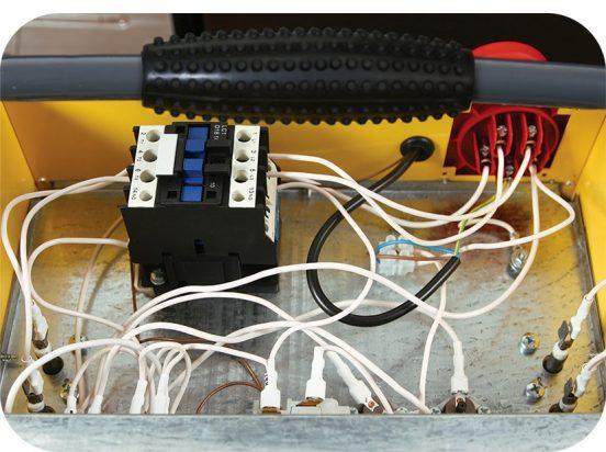 Блок управления электропушкой