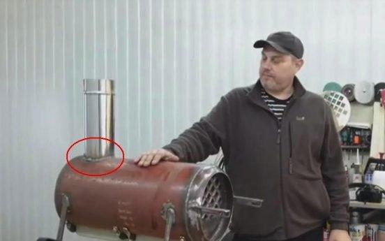 Газовая теплопушка приваривание