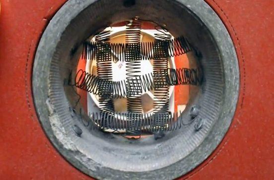 Монтаж нихромовой спирали обогревателя