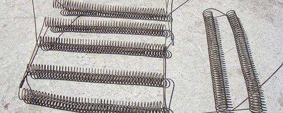 Навивка спиралей из нихрома
