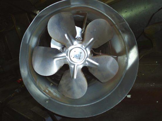 Вентилятор электропушки