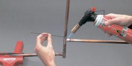 Как сделать самодельную газовую горелку для пайки
