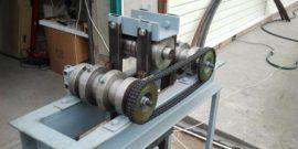 Самодельные трубогибы: инструмент для круглой и профильной трубы