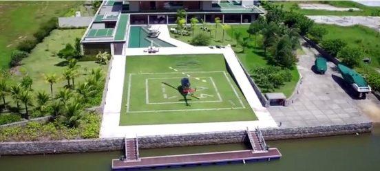 Дом Неймара в Бразилии