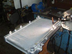Как запаять алюминиевый радиатор