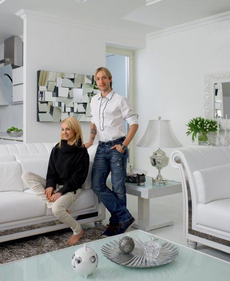 Дом Яны Рудковской и Евгения Плющенко