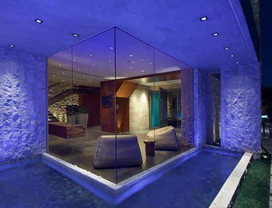 Дизайн помещения в доме Билла Гейтса