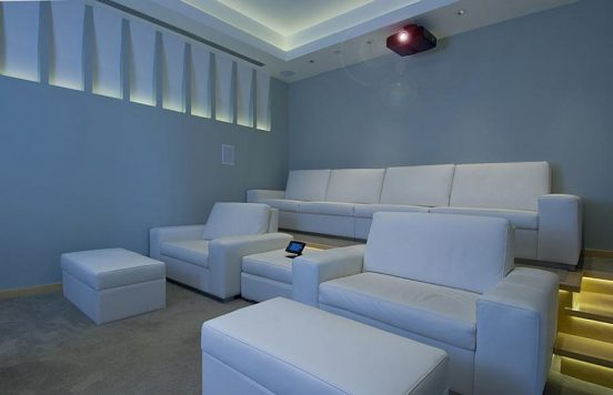 Кинотеатр на вилле Билла Гейтса