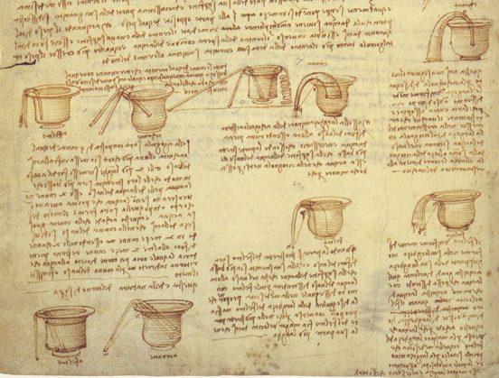 Манускрипт Леонардо да Винчи, принадлежащий Биллу Гейтсу