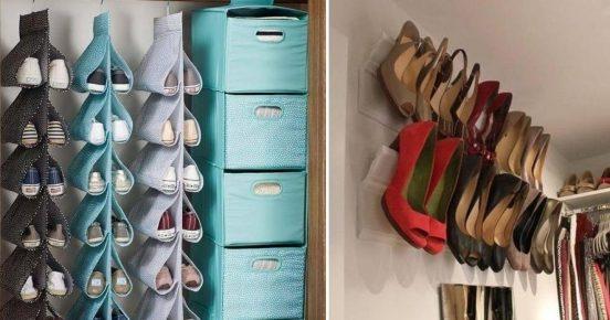 текстильные органайзеры для обуви