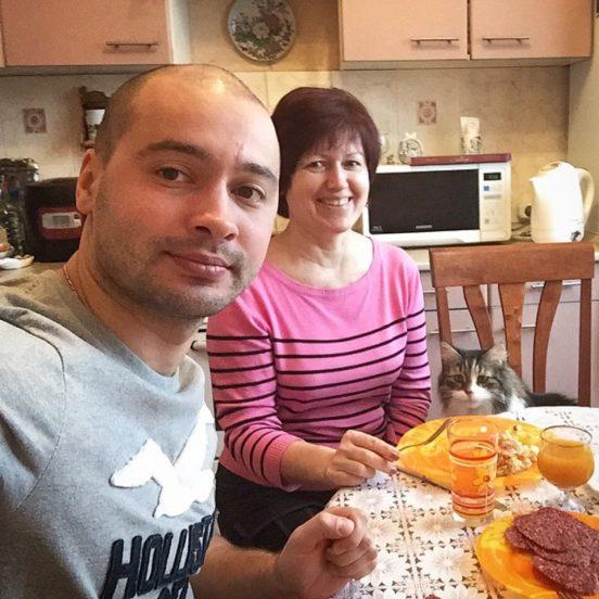 Кухня Андрея Черкасова