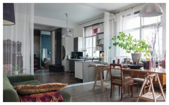 Интерьер квартиры архитектора Белоноговой
