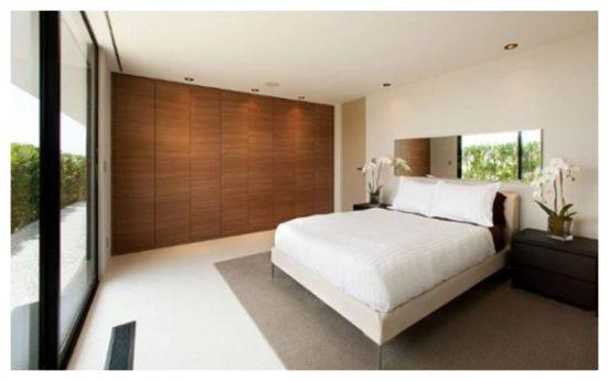 Спальня в доме Веры Вонг