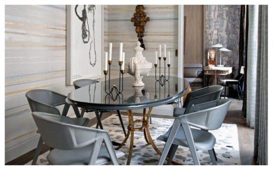 Интерьер в стиле ар-деко в доме Жана-Луи Денио