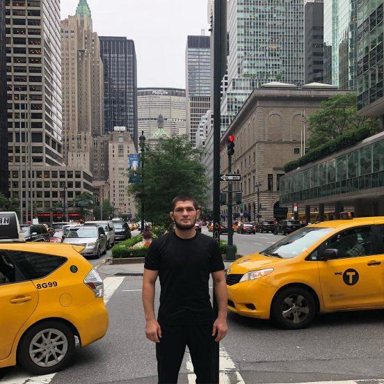 хабиб нурмагомедов в нью-йорке