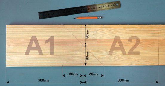 разметка древесины