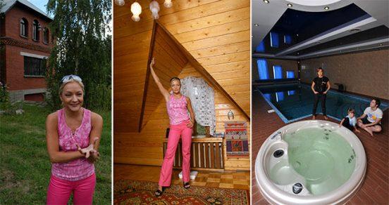 Татьяная Буланова и её загородный дом