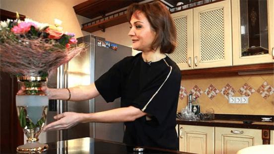 Татьяна Буланова на кухне