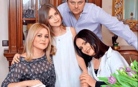 София Ротару с семьёй