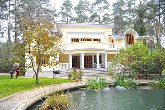 Дом Никиты Михалкова на Николиной горе