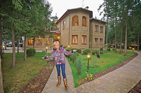 Дом для гостей в усадьбе Никиты Михалкова