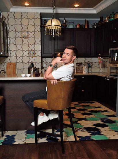 Стас Пьеха на своей кухне